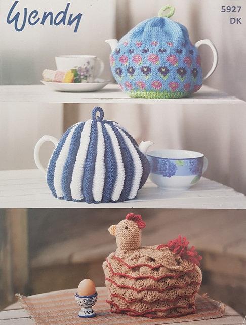 5927 Tea Cosies in Wendy Mode DK