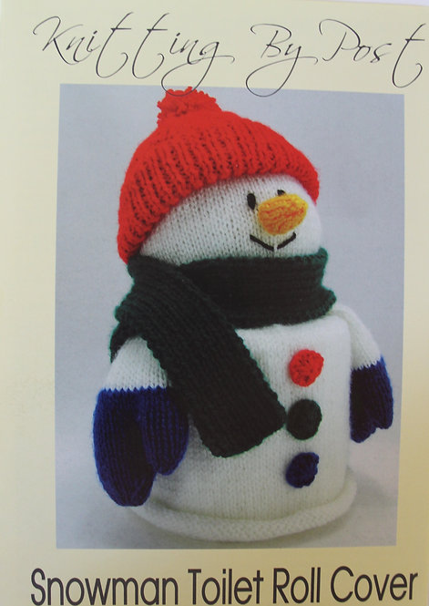 Snowman Toilet Roll Cover Knitting By Post Pattern
