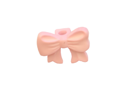 16mm Pink Bow Button