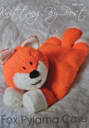 Fox Pyjama Case Knitting Pattern KBP-119