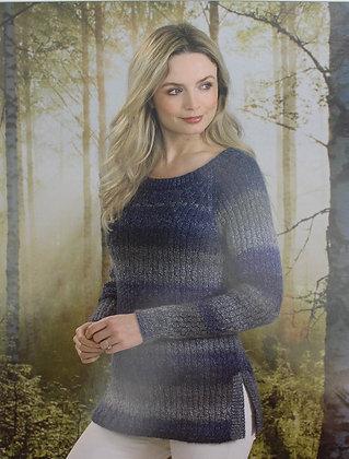 JB495 Sweater in James C Brett Landscape DK