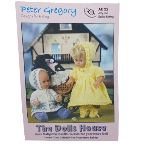 Peter Gregory The Dolls House Knitting Book AK22