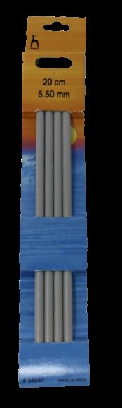 Pony 20cm Double Point Needles 5.5mm