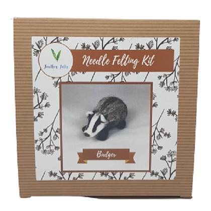 Badger Felting Kit