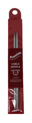 Essentials  Cable Needle For Sizes  2-5mm