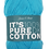 Thumbnail: James C Brett It's 100% Pure Cotton DK Turquoise IC08