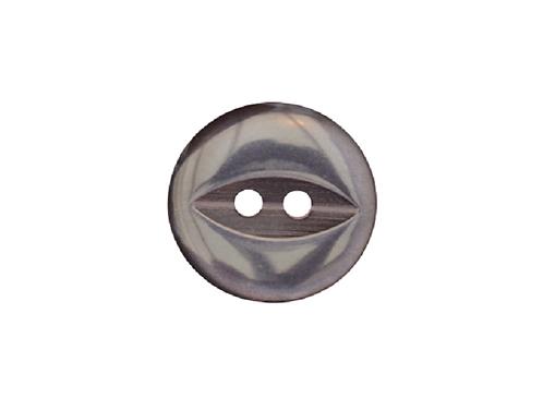 16mm Navy Fish Eye Button