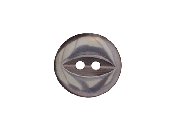 16mm Navy Fish Eye Button