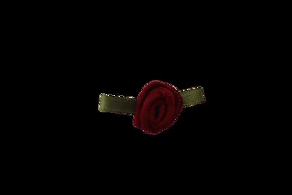 Wine 15mm Satin Rose
