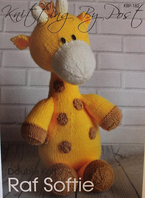 Raf Softie Knitting By Post Pattern KBP-182