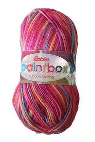 Robin Paintbox DK Knitting Yarn