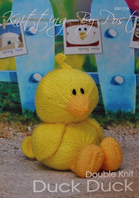 Duck Duck Knitting By Post Pattern KBP-218