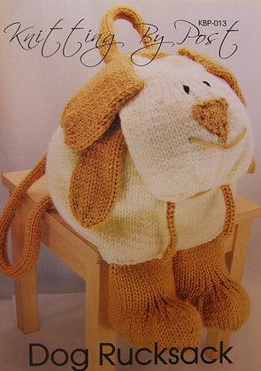 Dog Rucksack Knitting Pattern KBP-013