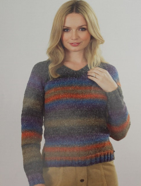 JB347 Sweater in James C Brett Lakeland Chunky