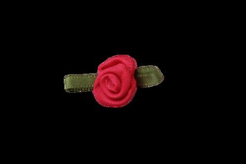 Bright Pink 15mm Satin Rose