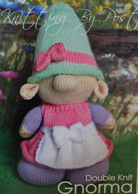 Gnorma Knitting By Post Pattern KBP-262