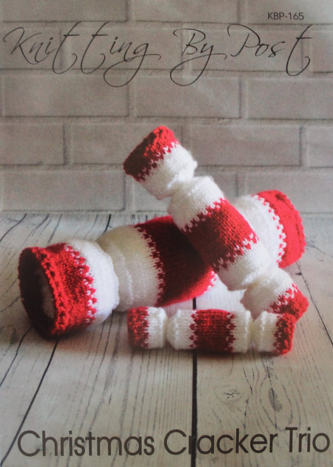 Christmas Cracker Trio Knitting By Post Pattern KBP-241