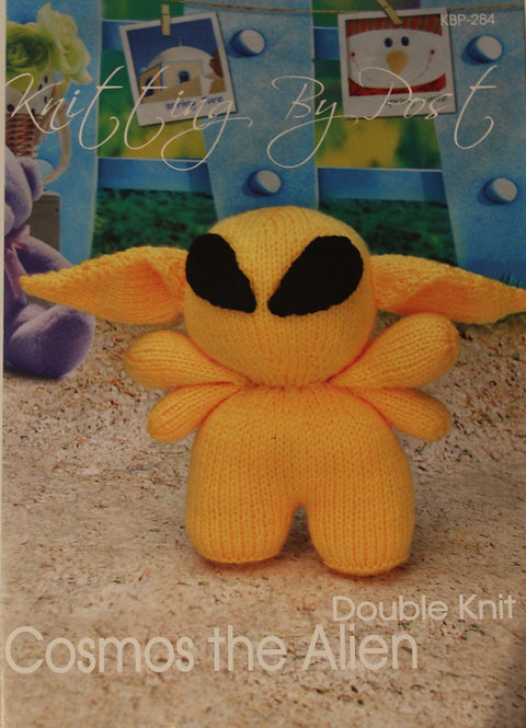 Cosmos the Alien Knitting By Post Pattern KBP-284
