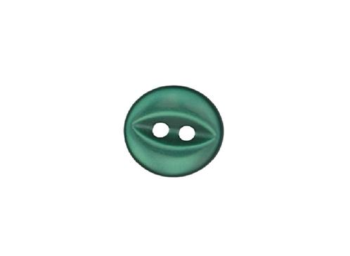 11mm Bottle Green Fish Eye Button