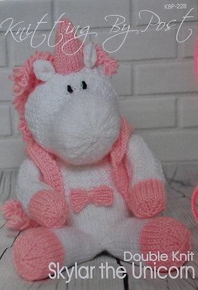 Knitting Pattern Sprinkle the Unicorn KBP-180