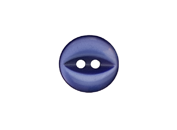 14mm Royal Blue Fish Eye Button