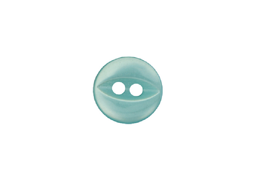 11mm Turquoise Fish Eye Button