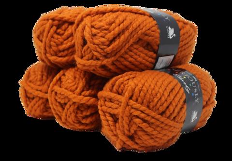 500g Cygnet Seriously Chunky Burnt Orange 4888