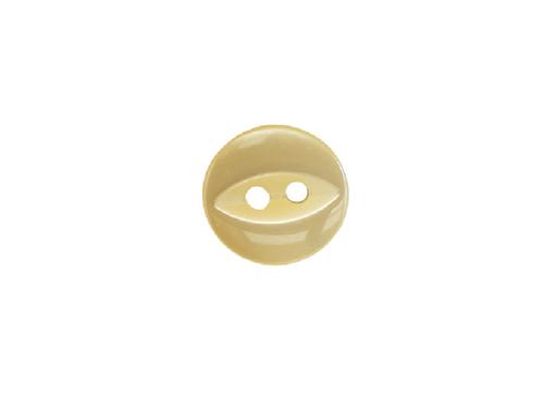 11mm Yellow Fish Eye Button