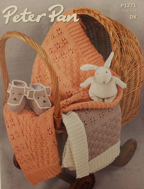 P1271 Blankets & Teddy Boots in Peter Pan DK