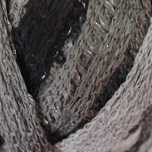 Schachenmayr/Red Heart Frilly Scarf Yarn Grey Mix