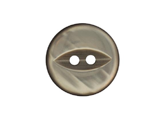 19mm Grey Fish Eye Button