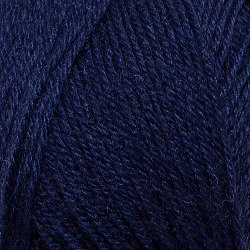 Truly Wool Rich 4 Ply Navy 324