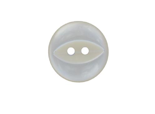 16mm Cream Fish Eye Button