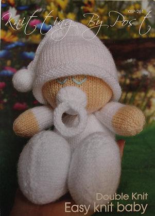 Easy Knit Baby Knitting Pattern KBP-261