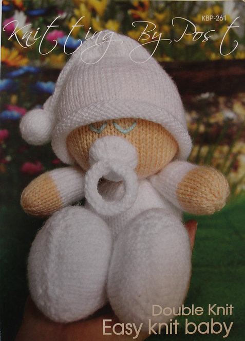 Easy Knit Baby Knitting By Post Pattern KBP-261