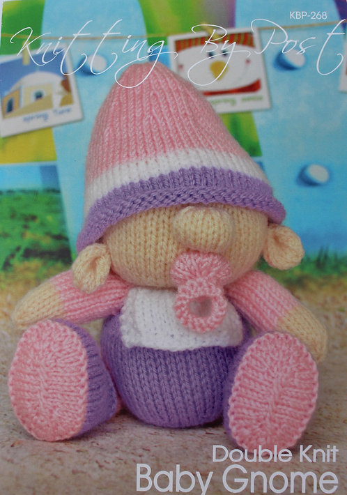 Knitting By Post Knitting Pattern - Baby Gnome KBP-268