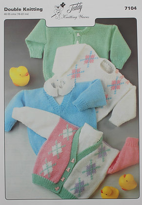 7104 Teddy DK Child's Sweaters & Cardigans