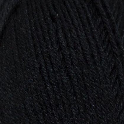 Truly Wool Rich 4 Ply Black 2066