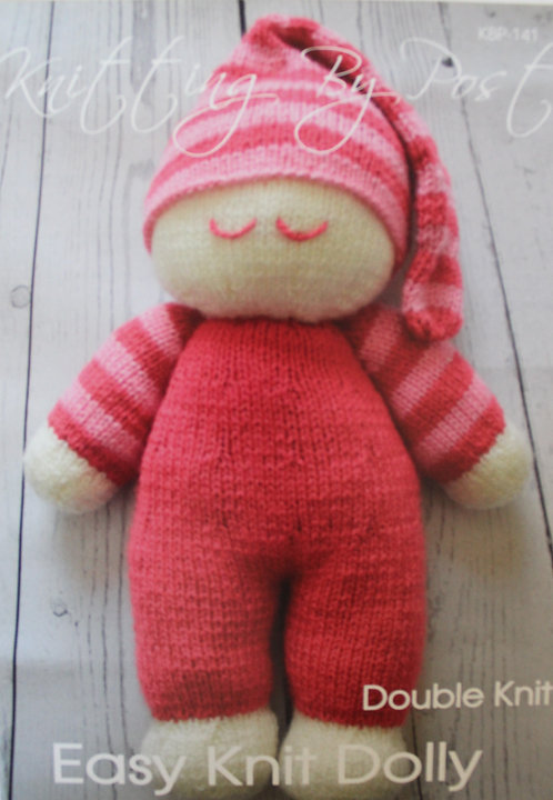 Easy Knit Dolly Knitting By Post Pattern KBP-141