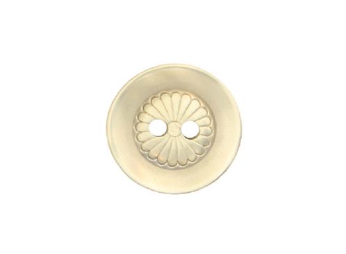 16mm Grey Button