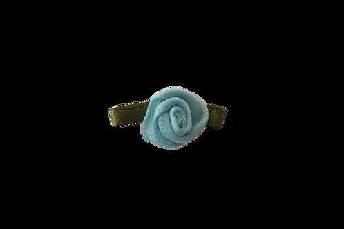 Pale Blue 15mm Satin Rose