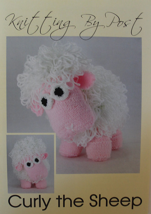 Curly the Sheep Knitting By Post Pattern