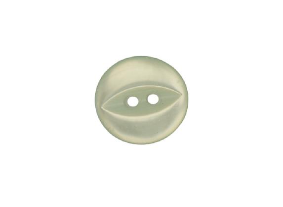 14mm Mint Green Fish Eye Button