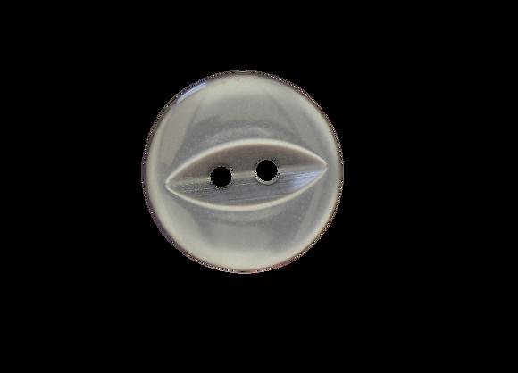 16mm Grey Fish Eye Button