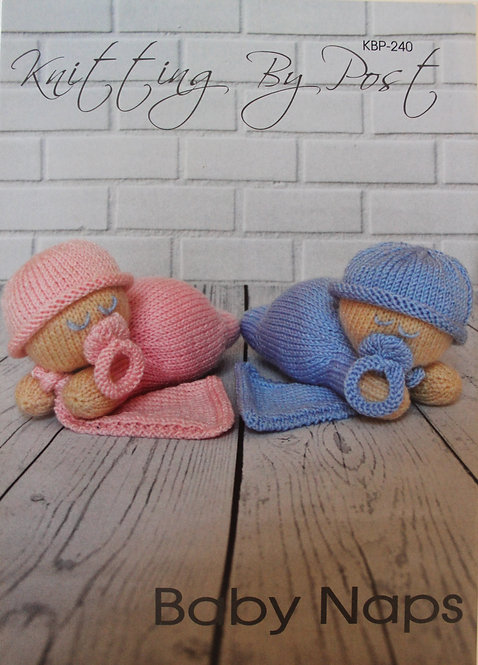 Baby Naps Knitting By Post Pattern KBP-240