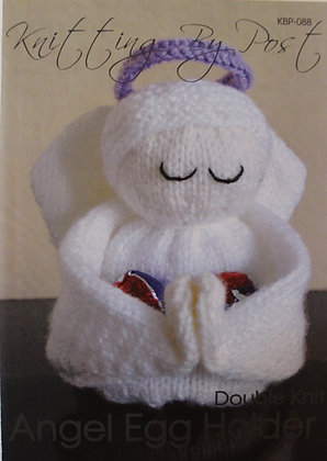 Angel Egg Holder Knitting Pattern KBP-088