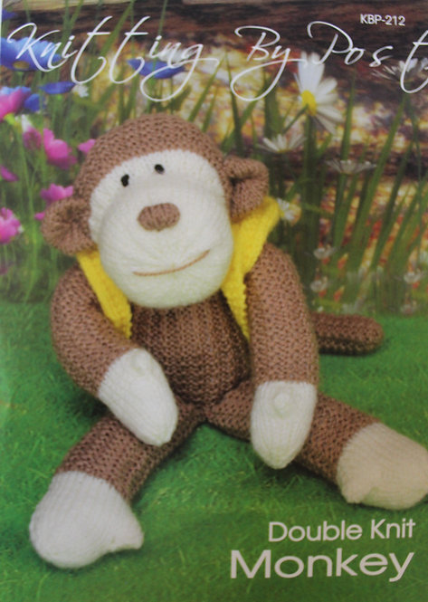 Monkey Knitting By Post Knitting Pattern KBP-212