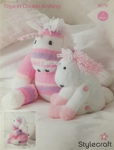 9276 Unicorn Toys in Stylecraft Wondersoft DK - 2 Designs