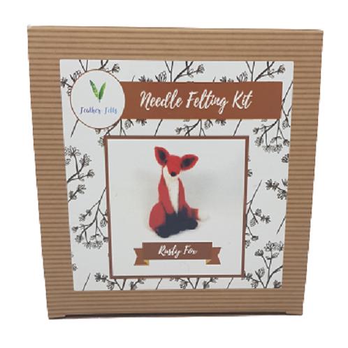 Rusty Fox Felting Kit