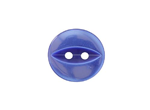 16mm Royal Blue Fish Eye Button